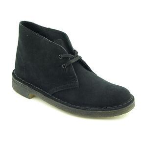 Beautiful Clarks Desert Boot Black Women