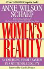 Women's Reality: An Emerging Female System in a White Male Society by Anne Wilson Schaef (Paperback, 1992)