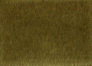 Solid Olive Green Velvety Chenille Upholstery Fabric EBay - Chenille upholstery fabric