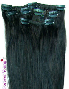 18-034-Black-Clip-in-HUMAN-HAIR-EXTENSIONS-1