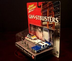 GHOSTBUSTERS-ATTACK-OF-MR-STAY-PUFF-PUFT-JOHNNY-LIGHTNING-DIORAMA-ECTO-1-NEW