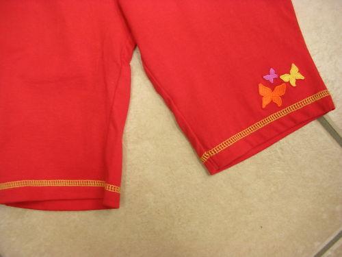 NEU! weiches Bündchen von Sigikid Shorts rot
