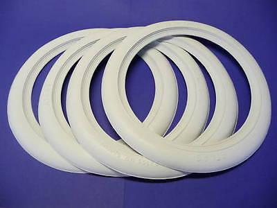 UNIVERSAL Weißwandringe 4er ATLAS das ORIGINAL 16 Zoll für Stahlfelge 070-835805