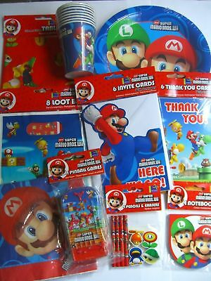 SUPER MARIO BROS.WII PARTY RANGE (Partyware/Balloons/Toys)