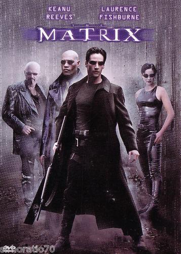 MATRIX  DVD R1 Keanu Reeves New