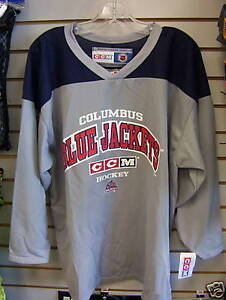 New-Columbus-Blue-Jackets-ice-hockey-practice-jerseys-team-set-of-16-lot-of-10