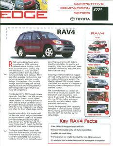 2004-Toyota-RAV4-Competitive-Comparison-Series-Dealer-Sales-Brochure