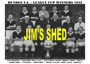 DUNDEE-F-C-TEAM-PRINT-1952-SCOTTISH-LEAGUE-CUP-WINNERS
