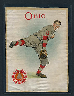 S21 LARGE MURAD TOBACCO SILK OHIO STATE BASEBALL PITCHER