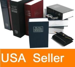 Dictionary-Secret-Book-Hidden-Safe-Hide-Cash-Key-Lock-Small-Middle-Large-Size