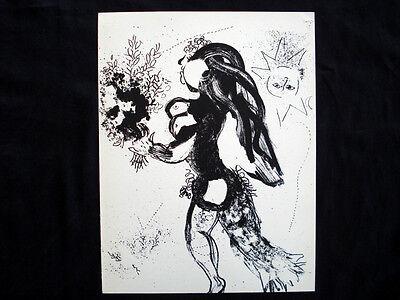 Marc Chagall L'Offrande M.291 original vintage Lithograph inv968