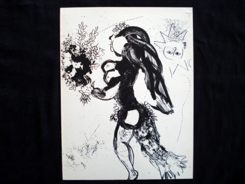 Marc Chagall L'Offrande M.291 original vintage Lithograph inv968