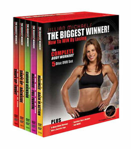 JILLIAN-MICHAELS-THE-BIGGEST-WINNER-loser-full-body-workout-DVD-5-DISC-SET