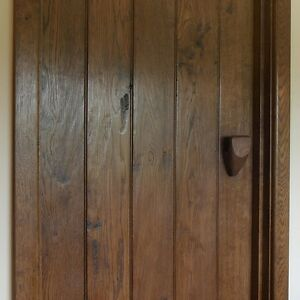 Internal Solid Oak Antique Style Door - Hand Crafted
