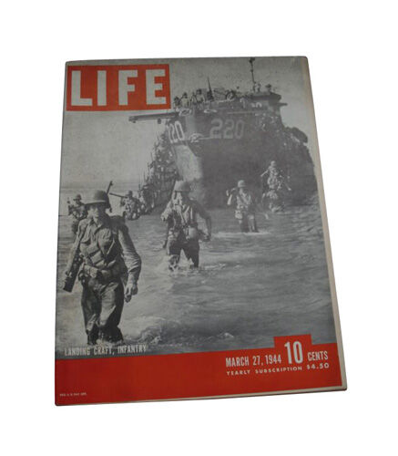 Life - March 27, 1944 Back Issue