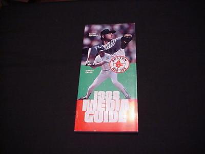 1988 Boston Red Sox Baseball Media Guide