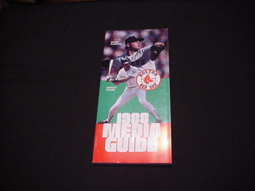 1988 Boston Red Sox Baseball Media Guide