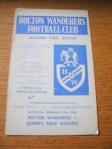24021968 Bolton Wanderers v Queens Park Rangers  Cre - Birmingham, United Kingdom - 24021968 Bolton Wanderers v Queens Park Rangers  Cre - Birmingham, United Kingdom