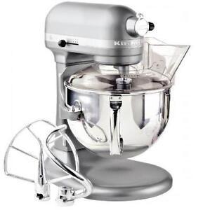Kitchenaid-RKP26M1Xcs-Professional-600-Stand-Mixer-6-quart-10-speed-Power-SILVER