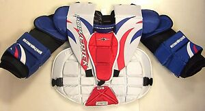 5544f948621 New Powertek Goal chest and arm protector size Jr Small junior ice ...