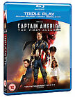 Captain America - The First Avenger (Blu-ray and DVD Combo, 2011, 2-Disc Set)