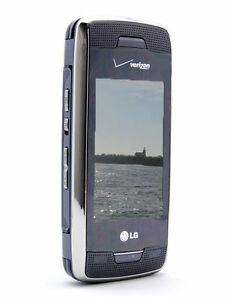 lg voyager vx10000 titanium verizon cellular phone ebay rh ebay com LG Owner's Manual LG Expression Phone User Manual