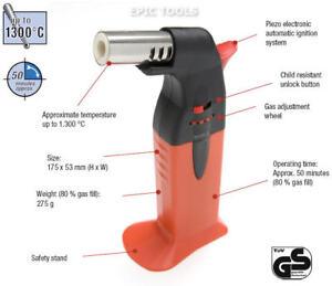 WELLER-Piezo-Electronic-Butane-Gas-Soldering-Torch-Gun