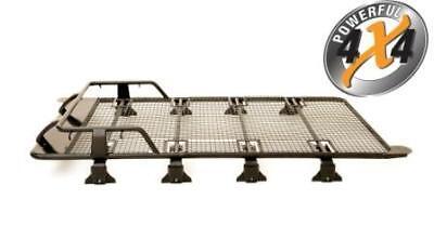 Clearance - Nissan Patrol GQ, GU Steel Roof Rack Tent Rack