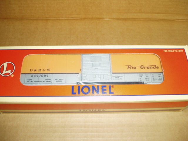 Lionel # 52118 Denver & Rio Grande Box Car