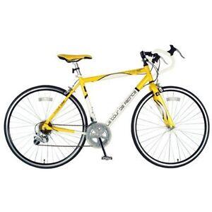 Kids-boys-girls-Road-bike-bicycle-45cm-tour-de-france-small-frame-yellow-white