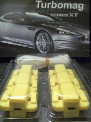 6 Paia Vera Magnetico Carburante Saver Per Tutte Le Auto Tipo-mostra Il Titolo Originale