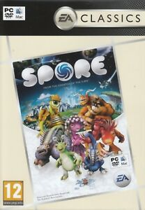 Spore-Game-for-PC-and-MAC-XP-Vista-7-8-Brand-New-Factory-Sealed