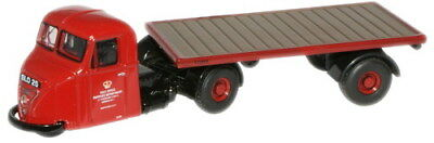 Oxford 76RAB007 Scammel Scarab Post Office Artic Flatbed Trailer 1/76/00 Scale T