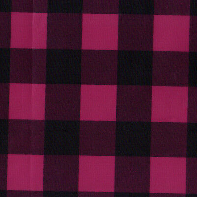 WR WATER REPELLENT OUTDOOR WIND STOPPER POLY LIGHT 50D GINGHAM PLAID CHECK 5YARD