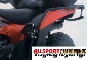 Suzuki-KING-QUAD-750-ATV-Rear-Fender-Protectors-amp-Foot-Pegs-Rests