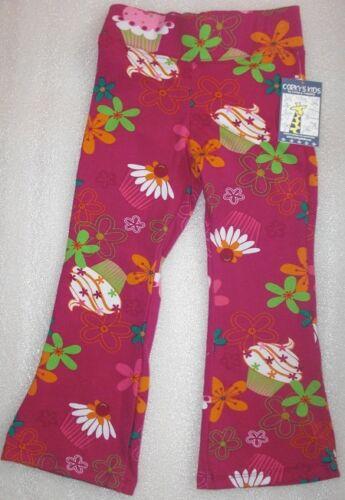 NWT Corky/'s Kids Birthday CUPCAKE Flare Leg Pants Sz 4T