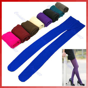 Women-039-s-Semi-Opaque-Tights-Pantyhose-Colors-Stockings