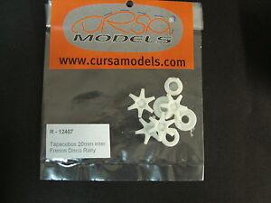 Accesorio Slot 1/24 - Tapacubos Rally 20mm OZ con freno