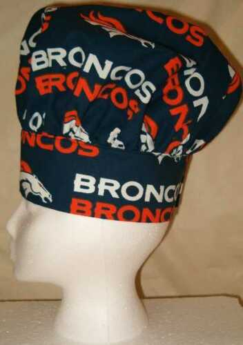 Chef Hat /& Apron Made With NFL Teams Cotton Fabric You Pick Cook BBQ Football