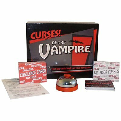 CURSES! Of The Vampire Party Game From Worldwise Imports - Halloween Party Game