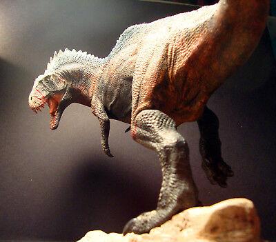 "1/30th Acrocanthosaurus dinosaur resin model kit 15"" Creative Beast Studio"