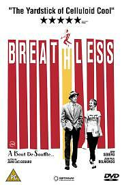 Breathless  DVD Jean-Paul Belmondo NEW AND SEALED