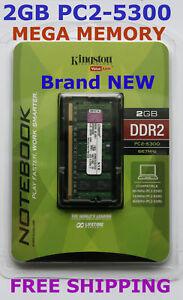New-KINGSTON-2GB-PC2-5300-667MHz-LAPTOP-Memory-Ram-HUGE