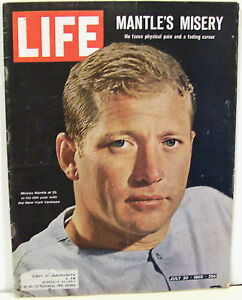 Life-Mag-7-30-1965-Mickey-Mantle-Mantle-039-s-Misery