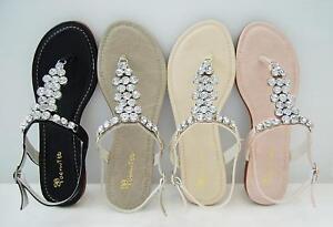 BN-Flat-T-Strap-Thong-Slingback-Sandals-Gray-Beige-Pink
