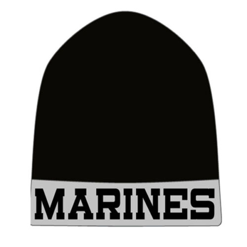MARINES KNIT BEANIE ONE SIZE NWT NAVY AIR FORCE ARMY