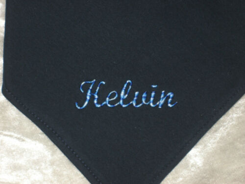 Dreieckstuch für Kinder Halstuch mit Namen Wunschnamen Baumwolle