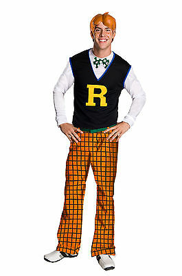 Adult TV Archie Comics Mystery Solving Comic Book - Archie Halloween Costume