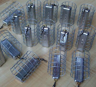 Futterkörbe Gewichte Frei Auswahl Angelblei Blei Futterkorb Feeder Angelkorb