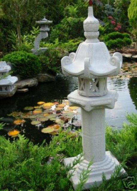 3x Kasuga - japanische Steinlaterne Garten Laterne ☺..☺..